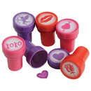 US TOY V204 Valentines Ink Stampers - 6 Pieces