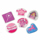 US TOY VL155 Princess Puffy Stickers/72-Pc