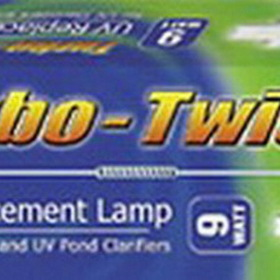 Coralife ES77082 9W Turbo Twist UV Sterilizer Lamp