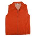 TopTie Teenager Uniform Vest Zipper Volunteer Vest with Pockets for Activity