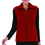 TopTie Women Fleece Vest Volunteer Activity Uniform Full Zipper Mountain Vest