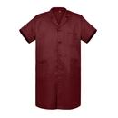 TOPTIE Unisex Short-Sleeve Lab Coat With 3 Pockets