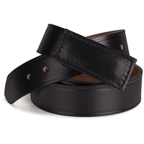 Red Kap AB12BK Leather Black Belt - Black, Price/Pcs