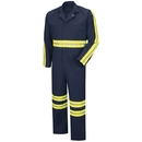 Red Kap CT10EN Enhanced Visibility Twill Action Back Coverall