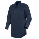 Horace Small HS1429 First Call Concealed Button-Front Long Sleeve Shirt - Black