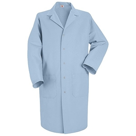 Red Kap KP18 Men's 5 Gripper Lab Coat, Price/Pcs