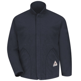 Bulwark LML6NV Fleece Jacket Sleeved Liner-Navy  - Navy, Price/Pcs