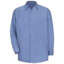 Red Kap SB12BS Long Sleeve Industrial Solid Work Shirt - Blue/Navy