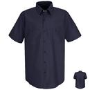 Red Kap SC40 Short Sleeve Wrinkle-Resistant Cotton Work Shirt