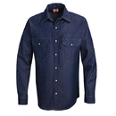 Red Kap SD78DN Deluxe Denim Shirt - Blue