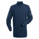 Bulwark SEK2NV Tagless Mock Turtleneck  - Navy