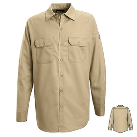 Bulwark SLW2 Button-Front Work Shirt, Price/Pcs
