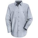 Red Kap SP10-2 Long Sleeve Industrial Solid Work Shirt