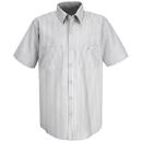 Red Kap SP60-2 Short Sleeve Striped Dress Uniform Shirt