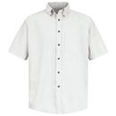 Red Kap SP80 Men's Short Sleeve Button-Down Poplin Shirt