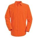 Red Kap SS14-1 Long Sleeve Enahanced Visibility Work Shirt