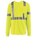 Red Kap SYK2HV Long Sleeve Hi-Visibility T-Shirt - Yellow