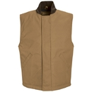 Red Kap VD22 Snap-Front Duck Vest - 65/35 Poly/Cotton Duck