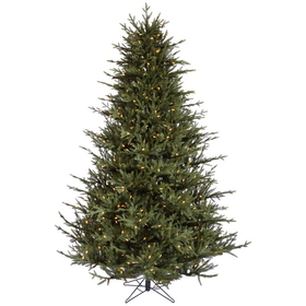 "Vickerman A110366LED 6.5' x 56"" Itasca Frasier 600WmWht, Christmas Tree, Price/each"