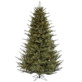 "Vickerman A110366 6.5' x 56"" Itasca Frasier Dura-lit 600CL, Christmas Tree, Price/each"