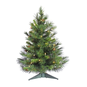 "Vickerman A801000 24"" x 17"" Cheyenne Tree 78Tips & Cones, Tabletop, Price/each"