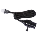Vickerman V15K117 E26 Black Socket 8' Cord On/Off Switch