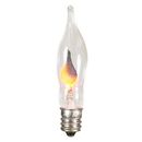 Vickerman V404710 Flickering C7 Flame Bulb 3.5wNickel Base