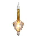 Vickerman V490772 7Lt Gold Glitter Bubble Set GW 17