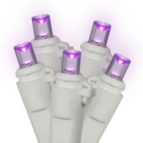 "Vickerman X4W0016 100Lt LED Purple/Ww WideAngle Ec 4""x34'L, LED Light Set, Price/each"