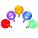 Vickerman XLED5G50 G50 Multi Faceted LED Bulbs 5 Pack