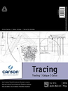 "Canson C100510960 9"" x 12"" Tracing Paper Pad"