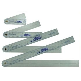 "True Angle Q112 Adjustable Protractor Ruler 12"", Price/EA"