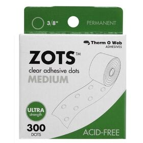 Therm O Web TW3784 Clear Adhesive Boxed Dots Medium, Price/BX