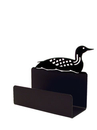 Village Wrought Iron BCH-116 Loon - Busines Card Holder