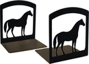 Village Wrought Iron BE-68 Horse - Book Ends