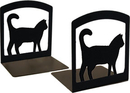 Village Wrought Iron BE-6 Cat - Book Ends