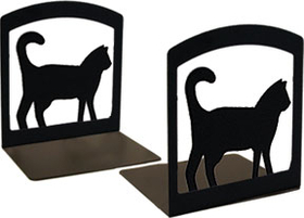 Village Wrought Iron BE-6 Cat - Book Ends, Price/Pair