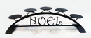 Village Wrought Iron C-PLB-276 Noel - Table Top Pillar Candle Holder