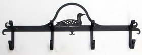Village Wrought Iron CB-116 Loon, Coat Bar, Price/Each