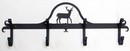Village Wrought Iron CB-3 Deer - Coat Bar