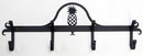 Village Wrought Iron CB-44 Pineapple - Coat Bar