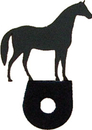 Village Wrought Iron DHK-68 Horse - Cabinet Door Silhouette
