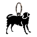 Village Wrought Iron KC-105 Dog - Key Chain