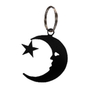 Village Wrought Iron KC-2 Moon & Star - Key Chain