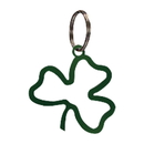 Village Wrought Iron KC-53G Shamrock - Key Chain-GREEN