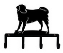 Village Wrought Iron KH-105 Dog - Key Holder