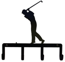 Village Wrought Iron KH-135 Golfer - Key Holder