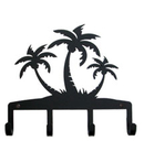 Village Wrought Iron KH-139 Triple Palm Trees - Key Holder