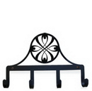 Village Wrought Iron KH-155 Bow - Key Holder