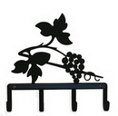 Village Wrought Iron KH-157 Grapevine - Key Holder